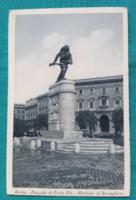 Olaszország,Róma,műemlék,régi,fekete-fehér,postatiszta képeslap