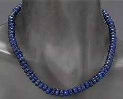 Mesés lapis lazulit  drágaköves nyakék ,  925, 235ct  - Új