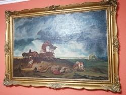 140cmx100cm festmény