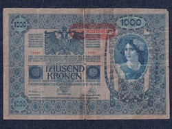 Ausztria 1000 Korona bankjegy 1902 (id51577)