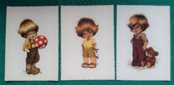 Füzesi Zsuzsa grafikái,postatiszta képeslapok (2)