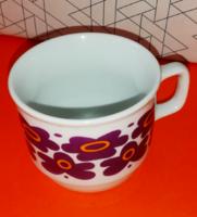 Retró Zsolnay csésze a full retró stílusú! 17.