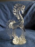 Csodás ló, paripa szobor, hibátlan 21,5 cm