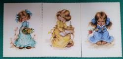 Füzesi Zsuzsa grafikái,postatiszta képeslapok (3)