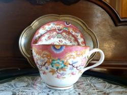 Sarreguemines Minton nagy méretű teás kávés csésze 5dl! reggeliző készlet