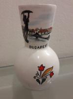 BUDAPEST / BUDAPESTI EMLÉK VÁZA BODROGKERESZTÚRI