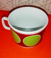 Retró Zsolnay csésze a full retró stílusú! 14.