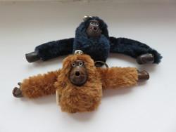 KIPLING márkájú kis majom kulcstartó, táskadísz 2 db