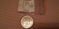 Certificate XXIX. Nyári olimpia Peking 2008 BU 5000 Ft 31,46 gramm 0,925 ezüst érméhez