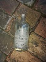 Gyenes Károly Artézi szikvízgyára, üveg palack, igencsak hasznàlt