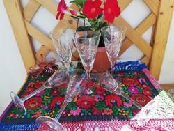 Ólomkristály pohár készlet
