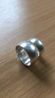 Ezüst gyűrűk párban fémjelzésel 925 eladó!