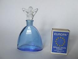 Női, hölgy alakos parfümös üveg, kölnis üveg