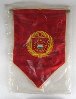1E676 Régi szocialista brigád zászló BONTATLAN!