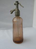 Eladó régi színes szódásüveg