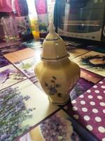 Hollóházi fedeles kis váza