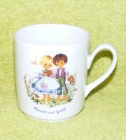 Bavaria Jancsi és Juliska porcelán bögre