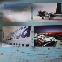 Repülős- Lufthansa képeslapok együtt eladó