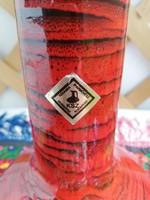 Ritka 26 cm-es kerámia váza