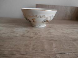 Zsolnay búzavirágos kicsi csésze-tálka