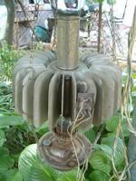 Antik katonai petróleum lámpa