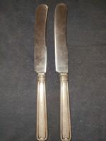 2 db antik kés Nirosta felirattal (ezüst?)