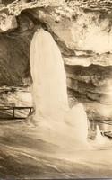 K 021  Séta Szlovákiában a XX század derekán. Dobsinai jégbarlang 1955