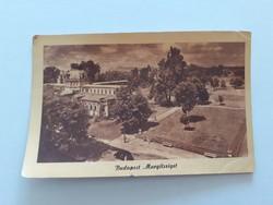 Régi képeslap Budapest Margitsziget levelezőlap