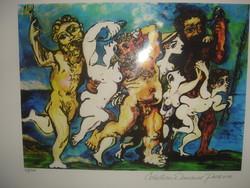 Pablo Picasso.Litográfia.