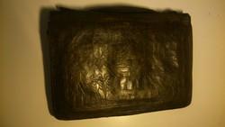 Antik bőr táska