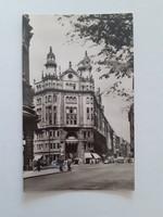 Régi képeslap Budapest belváros Jégbüffé levelezőlap