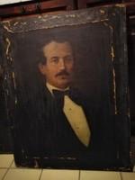 2 DB KŐVÁRY ENDRE (1832-1918) RESTAURÁLANDÓ FESTMÉNYE