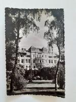 Régi képeslap Balatonfüred Szívszanatórium levelezőlap