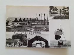 Régi képeslap Balatongyörök levelezőlap