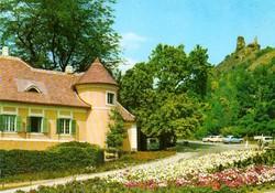 Ba 067 Színes körkép a Balaton vidékról a XX.század közepén . Szigliget Alkotóház