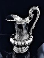 Hatalmas díszes ezüst 1115 g, szecessziós kiöntő