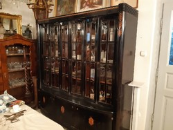 Exceptional Viennese bookcase, bookcase,