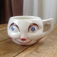 Antik majolika Siófoki emlék csésze