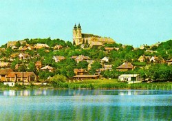 Ba 061 Színes körkép a Balaton vidékról a XX.század közepén . Tihany