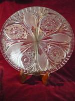 Kristály kínáló, asztalközép tál 2106 01