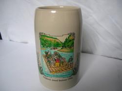 Kerámia söröskorsó - Flösserei