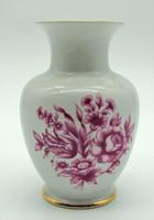 B681 Hollóházi porcelán váza