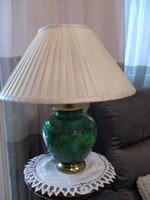 Antik Zsolnay eozin vagy ökörvérmázas lámpa 1870-ből