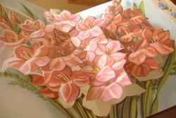 Nagyon szép virágmintás képeslapok az 1950-es évekből: