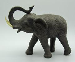 B653 Nagyméretű elefánt szobor - hibátlan szép darab