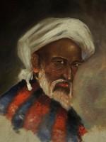 Berki '961 jelz.: Turbános férfi