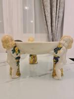 Wiener Keramik , Michael Powolny puttós asztalközép