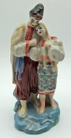 B685 Jelzett porcelán pár - szép hibátlan állapotban