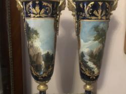 Antik Sevres empire váza pár.(Ár/db)
