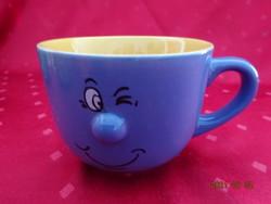 Mázas kerámia pohár - Möbelix termék, átmérője 11,5 cm.